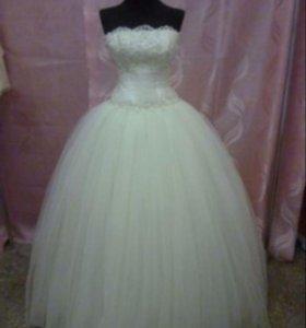 Платье свадебное , новое!