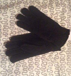 Новые мужские теплые перчатки