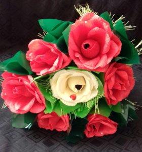 """Букет роз""""Сердце"""""""