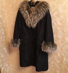 Куртка зимняя тёплая 50-54 размер