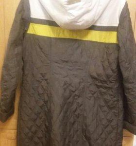 пальто демисизонное размер 50