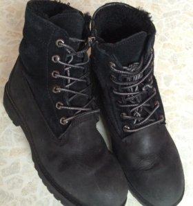 Ботинки  зимние размер38-39