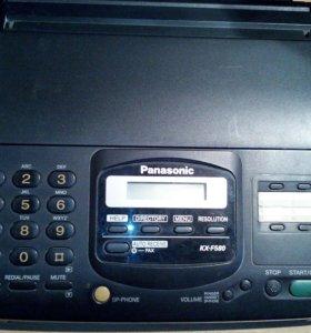 Телефон- факс б/у.