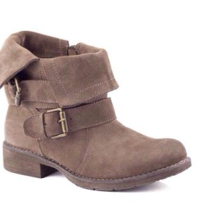 Ботинки  38 размер натуральная замша