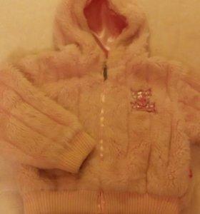 Куртка - шубка Barbie р. 110-116