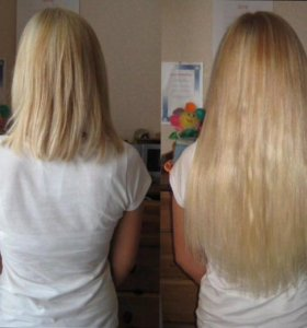 Наращивание, коррекция, снятие волос