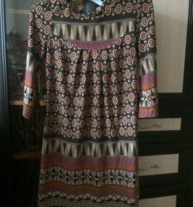 Платье бу мало р 42-44