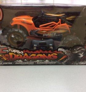 Машина р/у New Bright Turbo Dragon Buggy 1:14