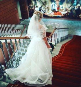 Свадебное платье ( счастливое )