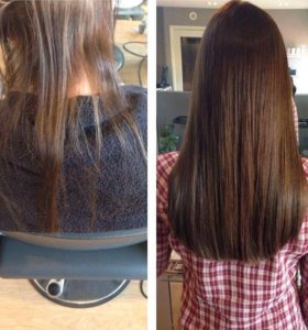 Наращивание,коррекция, перекапсуляция,снятие волос