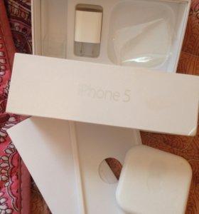 Айфон 5(16G)белый