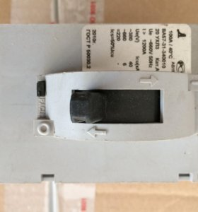 Автоматический выключатель ВА-5731 340010. 100А