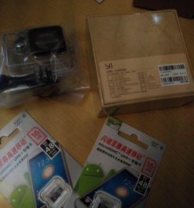 Новые Экшен камеры xiaomi yi