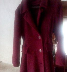 Осеннее пальто размер 44