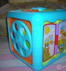 Развивающий куб(музыкальный)