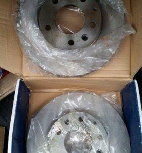 Тормозные диски передние. Мазда