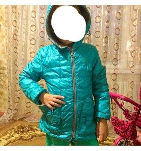 Куртка-плащик на девочку