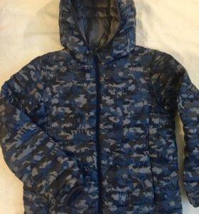 Куртка для мальчика осенняя на рост 140