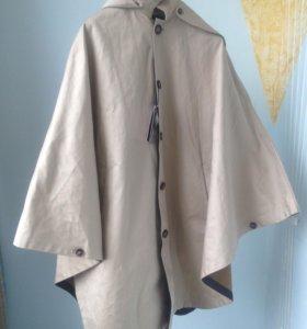 Куртка мужская, плащ-пончо