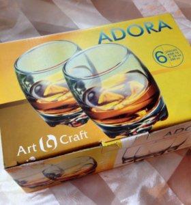Стаканы для виски adora