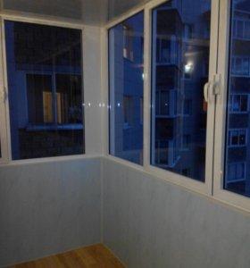 """Утепление балконов.Окна.Лоджии.Отделка """"подключ"""""""