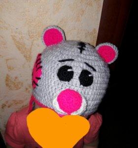 "Шапка детская "" Мишка Тедди """