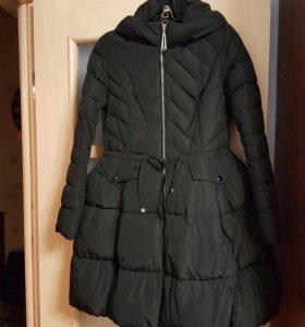 Зимнее пальто-платье