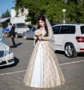Свадебное платье (сае)