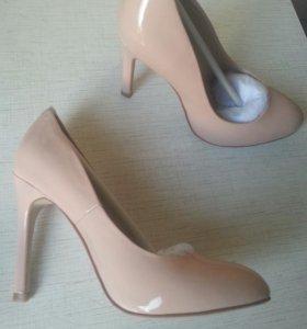 Туфли кожа лак (женские)