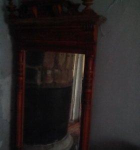 шкаф плат.раритет,зеркало