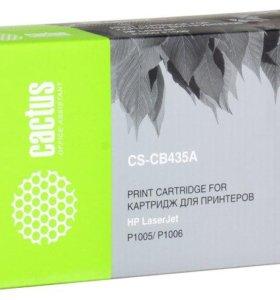 Лазерный картридж CB435A Cactus