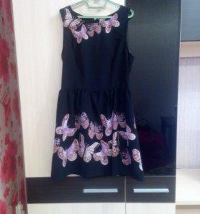 Платье шифон, новое