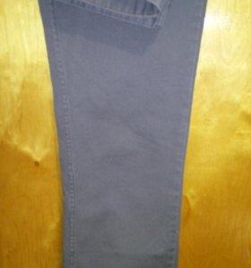 прямые Джинсы мужские новые, серые, 48 размер