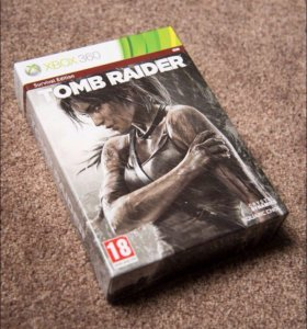 Tomb Raider Xbox 360 Collection Edition