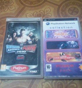 2 игры для psp