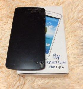 Телефон fly IQ4503 Quad ERA Life6