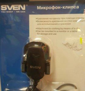 Микрофон-клипса Sven