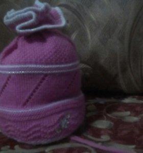 Детские шапочки, шарфики.