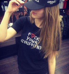 "Футболка black star wear xs. ""fuck your girlfriend"