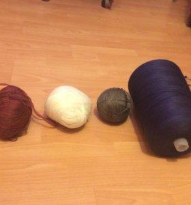 Нитки для вязания