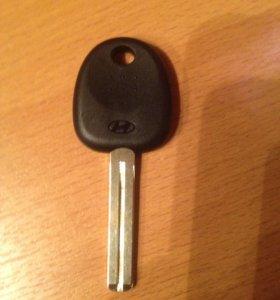 Запасной оригинальный ключ заготовка