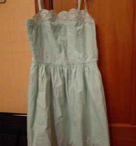 Хлопковое летнее платье Остин