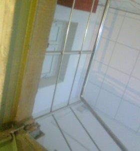 Перила лестницы из нержавейки