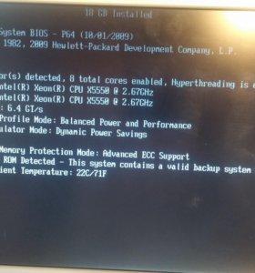 HP Proliant DL360R06 G6 X5550