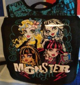 Сумка-рюкзак Monster High