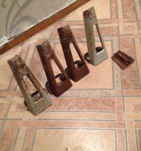 Ножки для чугунной ванный  старого образца
