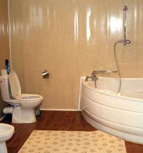 Ремонт ванной и туалета панелями ПВХ