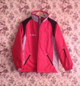 Тёплый спортивный костюм: куртка и штаны (новый)