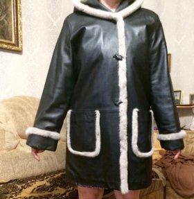 Куртка утеплённая кожа