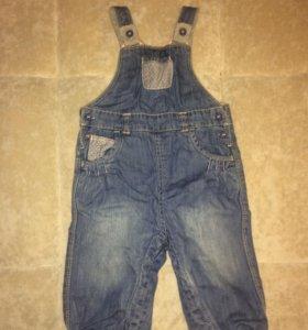 Комбинезон Mothercare джинсовый